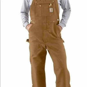 Men's Brown Carhartt Coveralls